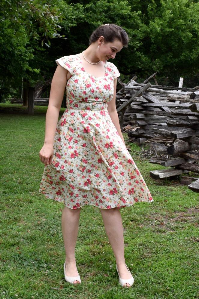Ivory Rose Pastille Dress 8